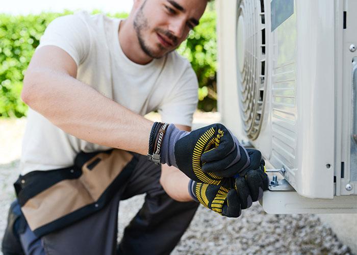 Installation-d'une-climatisation-réversible